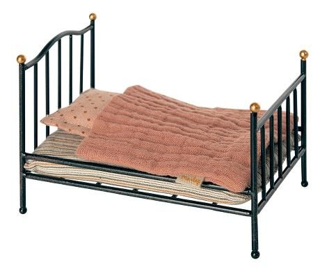 Vintage bed, Mouse - Anthracite 0