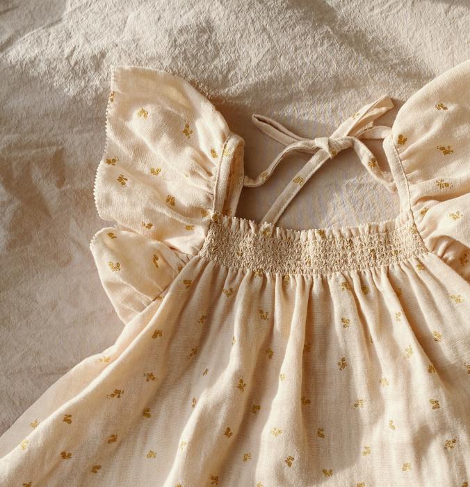 Zalie Smock Strap Dress Mandarin [1]
