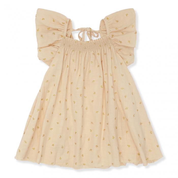 Zalie Smock Strap Dress Mandarin [0]