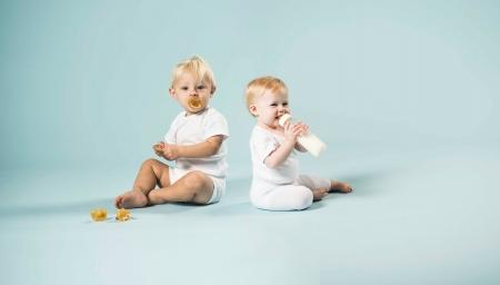 2in1 Baby glass bottle Star Ball White5