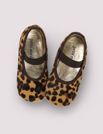 Ballerina Shoe w Elastic Blur Leo0