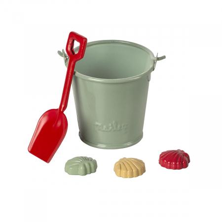 Beach set - Shovel, bucket & shells [0]