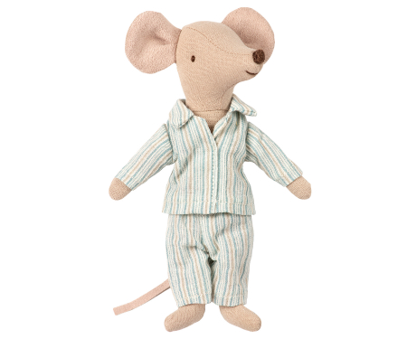 Big brother mouse in box w pyjamas0