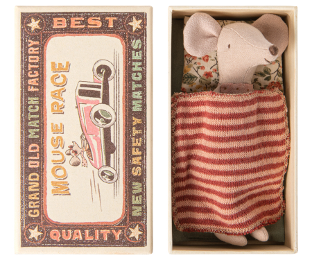 Big sister mouse  in matchbox w skirt1