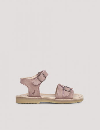 Buckle sandal Old rose2
