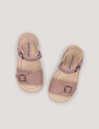 Buckle sandal Old rose0