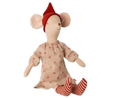 Christmas mouse, medium - Girl1