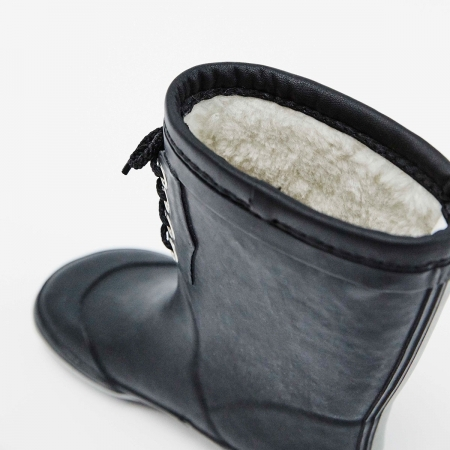 Classic Rubber Boots Warm Navy2
