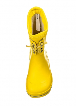 Classic Rubber Boots Warm Yellow2