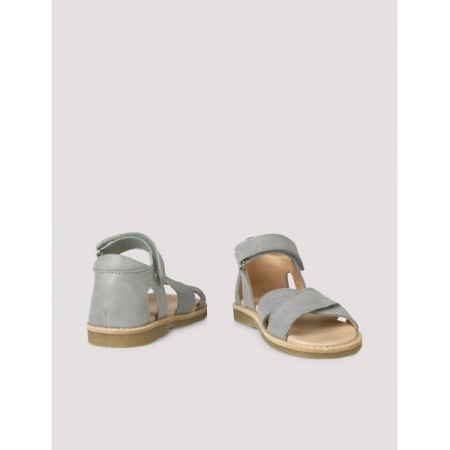 Cross-over sandal concrete green0