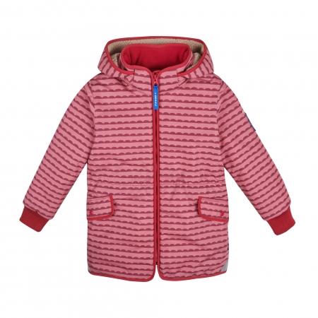 Ella soft winter jacket pebbles rose