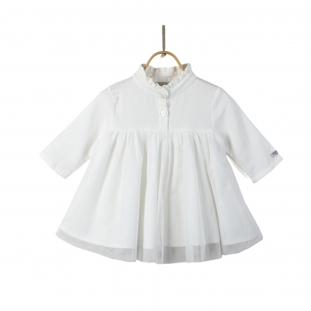 Fieke Dress Swan White0