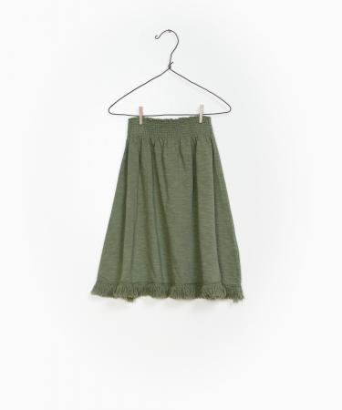 Flame Jersey Skirt 100%Organic Cotton [0]