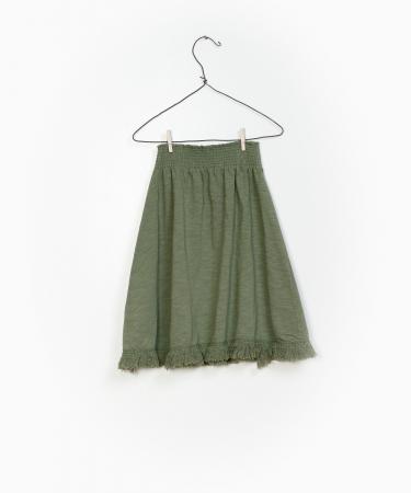 Flame Jersey Skirt 100%Organic Cotton [1]