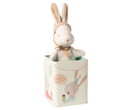Happy day bunny in box, Small0