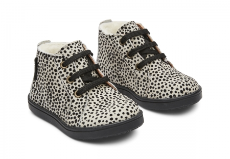Isac Lace Tex Cheetah Black Spot0