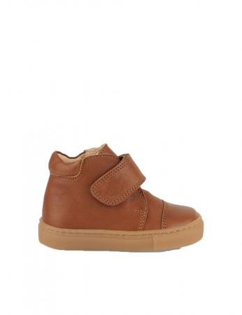 Kicks velcro Cognac0