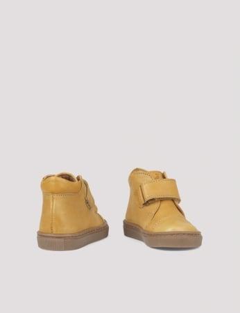 Kicks velcro Mustard2