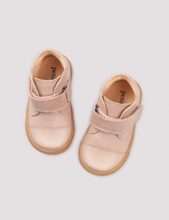 Kicks velcro Soft pink2