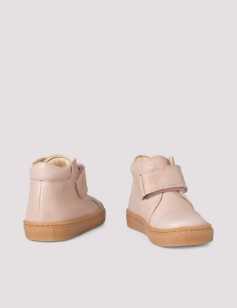 Kicks velcro Soft pink1