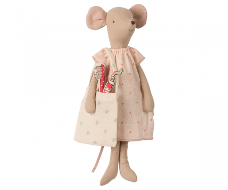 Medium mouse in box - Girl, incl sleep-over set2