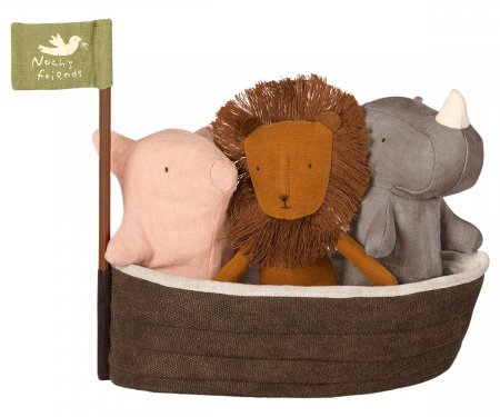 Noah's Ark  w 3 mini animals0