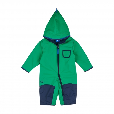 Pikku winter overall leaf/navy0