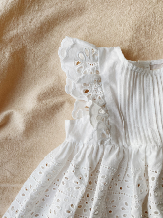 Posey dress Clear White [1]