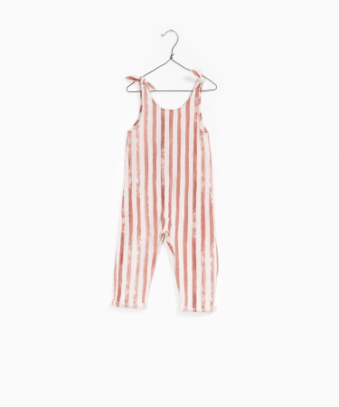 Printed woven jumpsuit [0]
