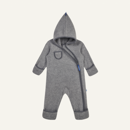 Puku wool overall charcoal [0]