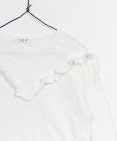 Pulover jerseu bumbac organic alb2