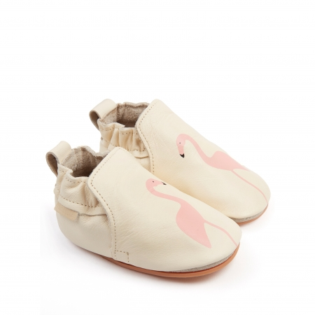 Rio Flamingo Cream Leather1