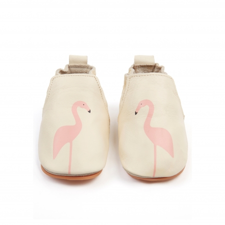 Rio Flamingo Cream Leather0