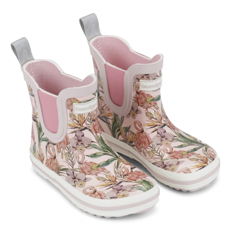 Rose flamingo short classic rubber boot 201