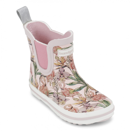 Rose flamingo short classic rubber boot 200