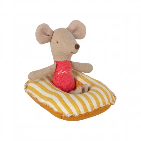 Rubber boat, Small mouse - yellow stripe [1]