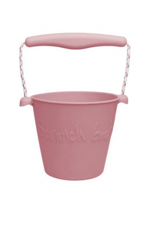 Scrunch bucket Dusty Rose0