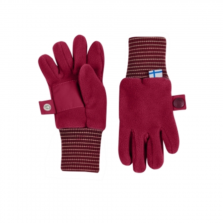 Sormikas gloves persian red
