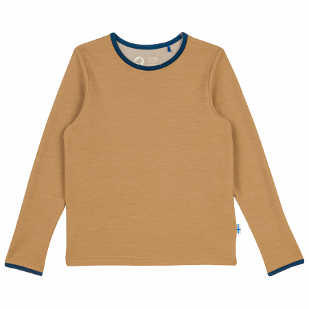 Taamo wool longsleeve cinnamon/navy [0]