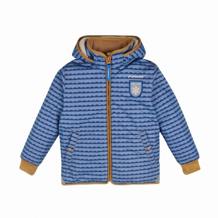 Vanu soft winter jacket pebbles blue0