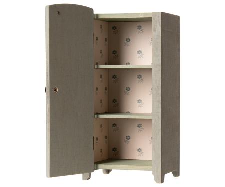 Vintage closet w shelves Mini Mint/ Grey0