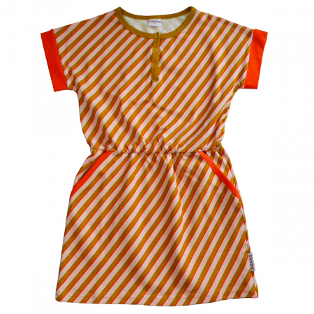 Rochie - Ymke dress Diagonal print [0]