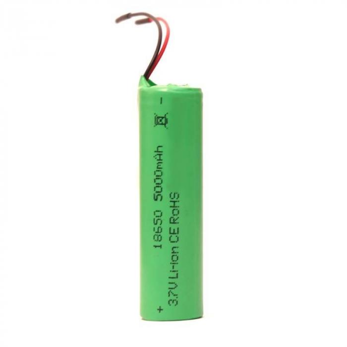 Acumulator cu fire 18650 LI-ION 5000 mAh 3.7V [0]