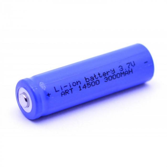 Acumulator 14500 LI-ION 3000 mAh 3.7V [0]