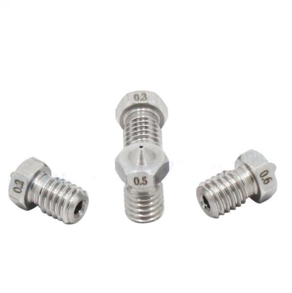 Duza de otel pentru filament de 1.75 mm pentru extrudoare E3D V6 [0]