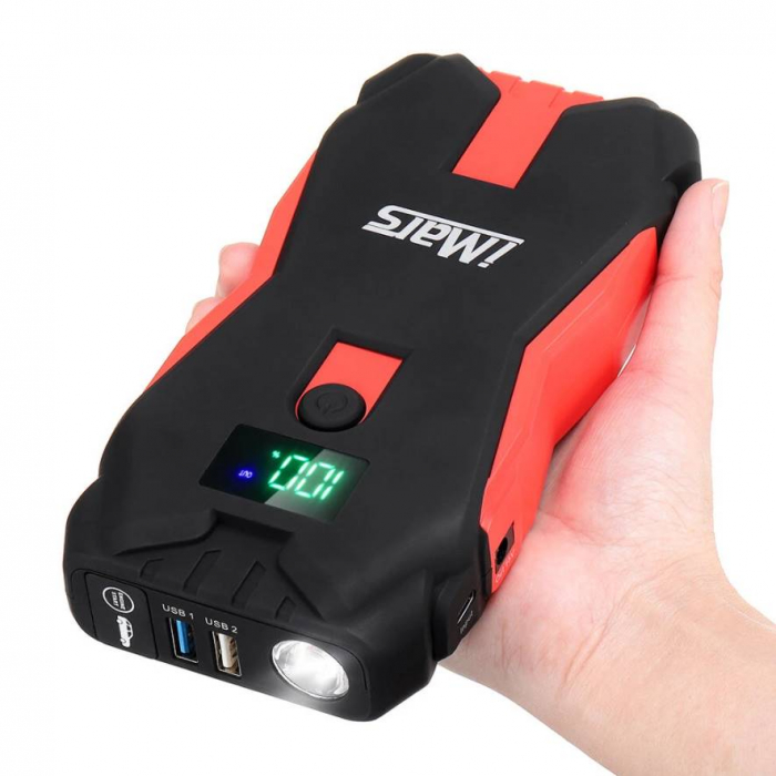 PowerOn - Baterie portabila pentru pornirea masinii 1300A [1]