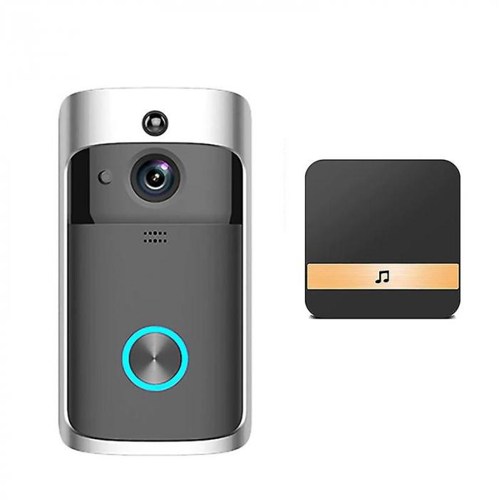 Sonerie fara fir cu monitorizare video si audio [0]