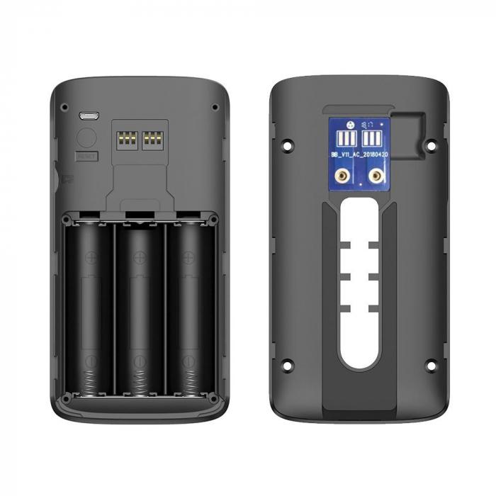 Sonerie fara fir cu monitorizare video si audio [1]