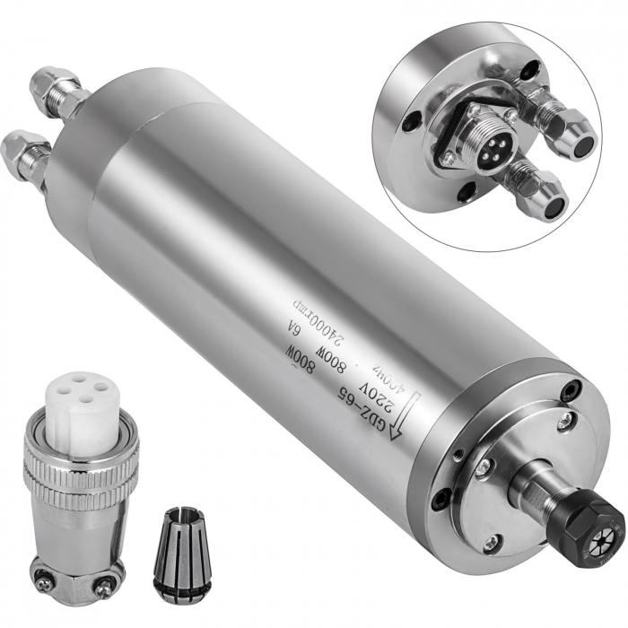 Spindle CNC 0.8/1.5kw 220V ER11 racire apa [0]