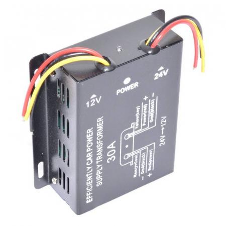 Convertor de tensiune auto 24VDC la 12VDC (10-30A) [1]